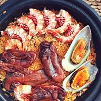暖暖海鲜饭的做法图解6