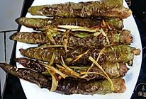 虎皮辣椒酿肉的做法