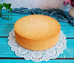 八寸戚风蛋糕的做法