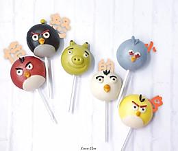 【卡通馒头&卡通包】愤怒的小鸟棒棒糖豆沙包的做法