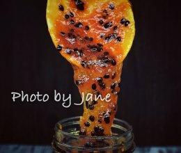 百香果酱的做法
