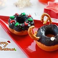 甜美可爱的圣诞甜甜圈#安佳烘焙学院#的做法图解18