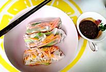 一人食•越南米卷卷蘸酱的做法