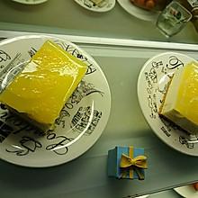 冰糖香橙果冻慕斯蛋糕