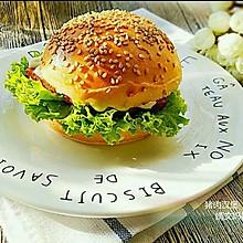 猪肉汉堡#鲜香滋味,搞定萌娃#