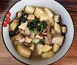 香菇和芋头,也是完美搭配!的做法