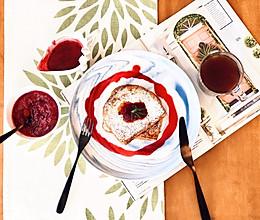 蔓越莓是圣诞的颜色: 自制蔓越莓酱法国吐司的做法