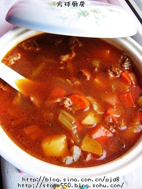 意大利羊肉浓汤的做法