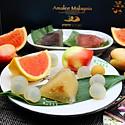 燕窝冰心粽水果下午茶