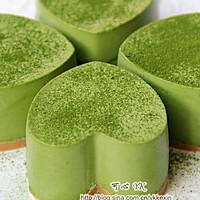 #豆果5周年#四叶草抹茶慕斯蛋糕的做法图解8