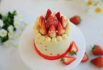 草莓橙皮酱生日蛋糕的做法