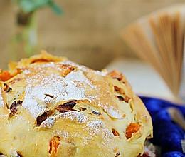 南瓜红枣大裂包 的做法