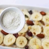 #晒出你的团圆大餐#香蕉牛奶烤燕麦的做法图解11