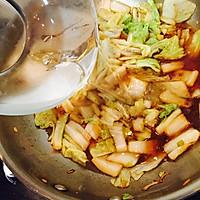 白菜炖豆腐的做法图解5