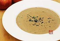 【曼步厨房】野生菌菇奶油浓汤的做法