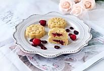 蔓越莓绿豆糕#好吃不上火#的做法