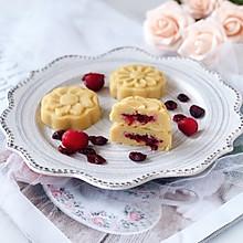 蔓越莓绿豆糕#好吃不上火#