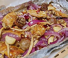 烤大杂烩—有肉有菜一盘搞定的做法