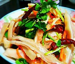 多福菜~凉拌爽口猪耳朵的做法