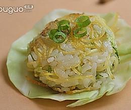 米饭墩子的做法