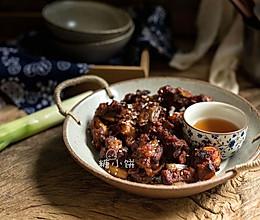 【韩式辣酱葱烤排骨】的做法