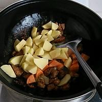 猪肉土豆炖粉条的做法图解5