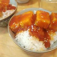 米饭杀手糖醋脆皮豆腐的做法图解7