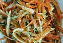 黄瓜胡萝卜丝的做法