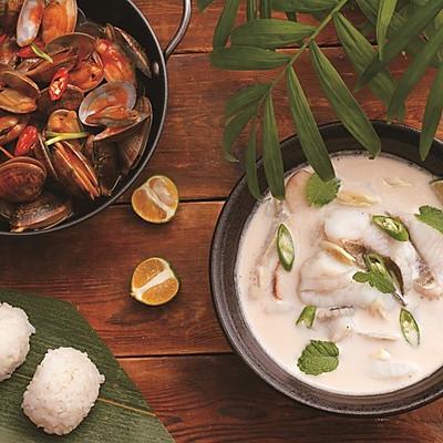 美味知趣 椰汁炖鱼(泰式)