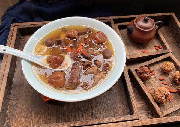 猪心荔枝炖汤的做法