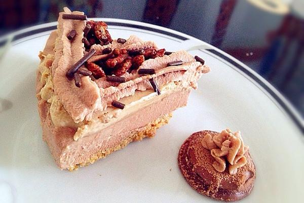 朱古力咖啡双层慕斯蛋糕的做法