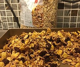 自制蜂蜜燕麦片(格兰诺拉燕麦片)的做法