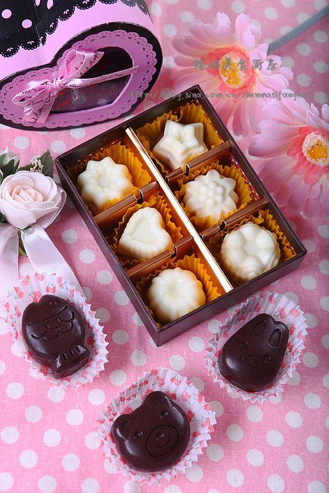 情人节的手作甜蜜---DIY杏仁巧克力