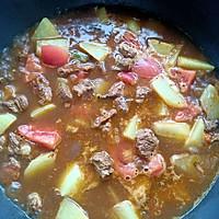 #牛气冲天#番茄土豆炖牛肉的做法图解11