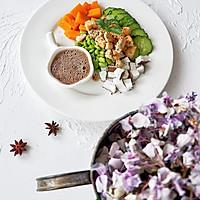 鸡胸肉南瓜椰肉沙拉的做法图解5