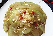 冬瓜炒虾皮的做法