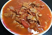 西红柿黑胡椒瘦肉的做法