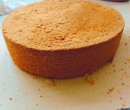 八寸蛋糕胚的做法