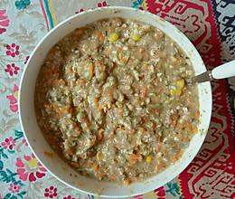 自制猫饭-鸡肝鸡胸肉蔬菜的做法