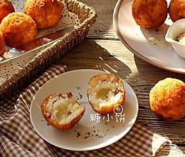 【辣肠芝心饭团】马苏里拉&山羊奶酪2款 的做法