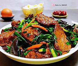 #餐桌上的春日限定#韭菜炒猪肝的做法
