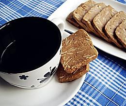 巧克力杏仁饼干【65%可可脂的浓情】的做法