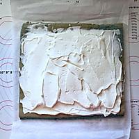 蝶豆花小熊日式棉花蛋糕卷的做法图解18