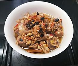 豆豉剁辣椒蒸排骨的做法