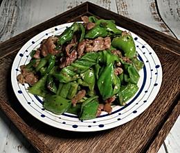 #憋在家里吃什么#青椒炒肉丝的做法