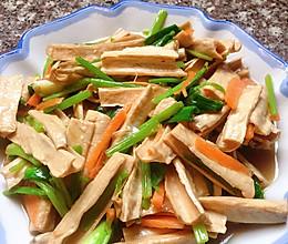 素炒腐竹,这么做多吃两碗饭的做法