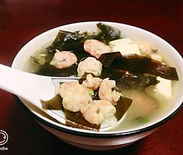 100道减肥餐—4道:疯狂掉秤的虾仁海带汤!!的做法