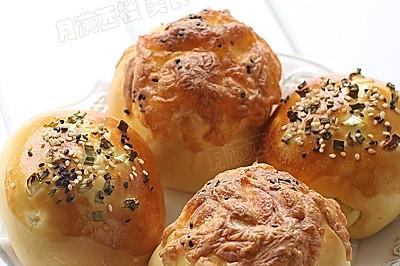 午餐肉芝士面包---试用松下SD-PM105面包机揉面功能