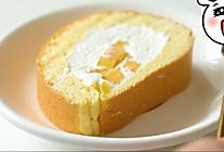 奶油芒果蛋糕卷卷卷的做法