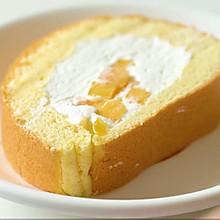 奶油芒果蛋糕卷卷卷